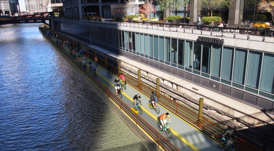 3D Chicago River ride