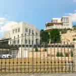 3D Apartment complex front view