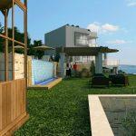 3D Apartment complex Podstrana Split