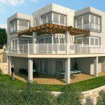 3D Apartment front view