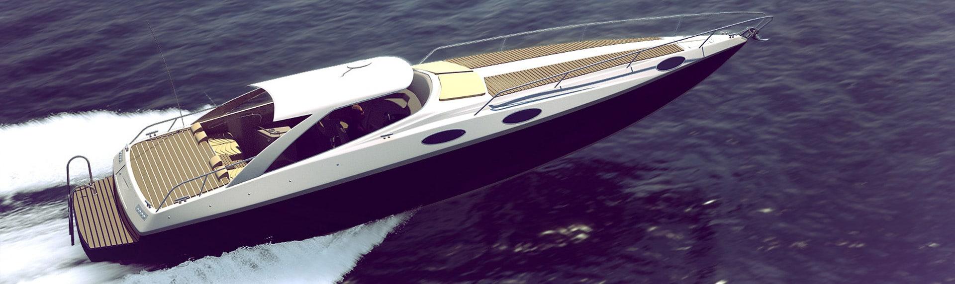 Speed boat 3D