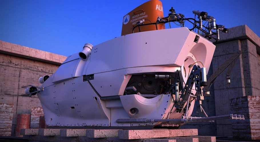 Alvin deep sea submarine 3D visualization
