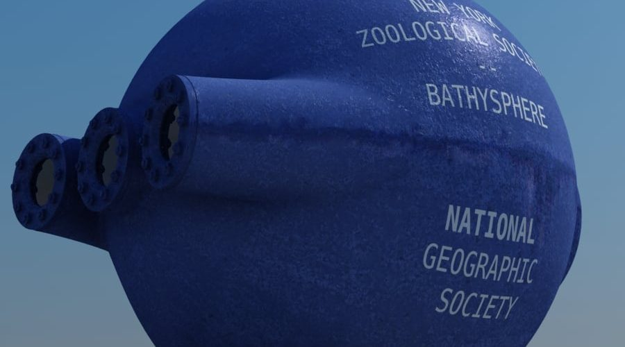 3D Bathysphere view from the corner