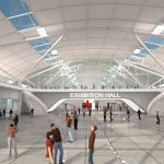 3D View on exhibition hall