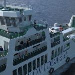 Ferry 3D side view