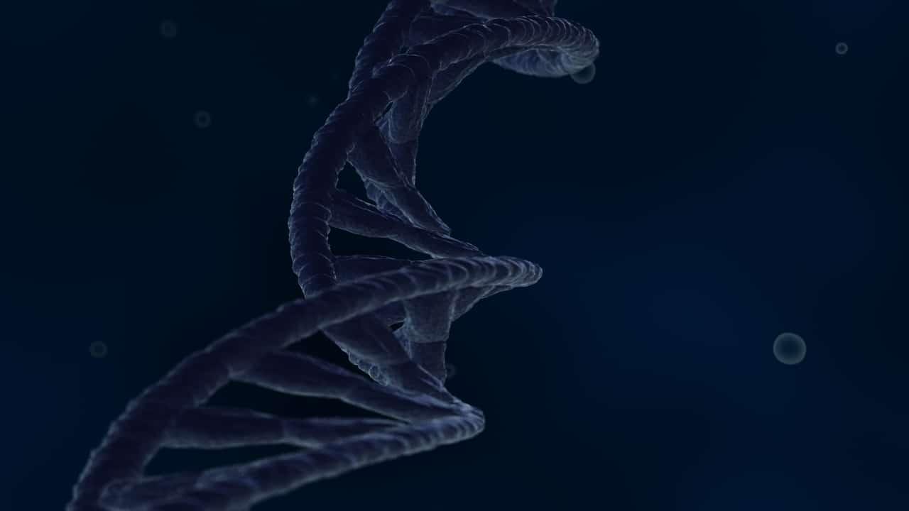 Blue DNA 3D