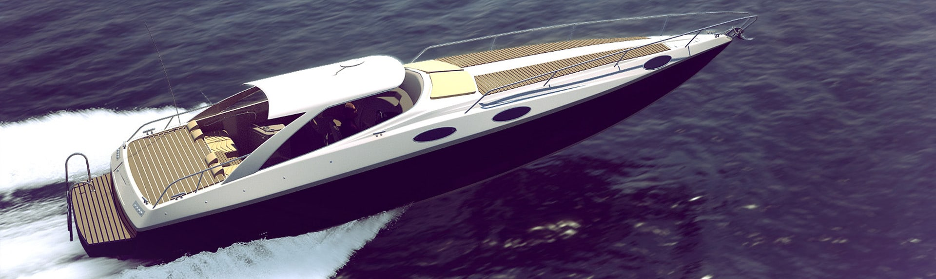 Speed boat 3D