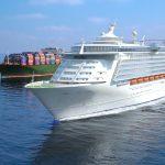 3D Cruise ship air lubrication