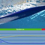 Cruise ship air lubrication graph